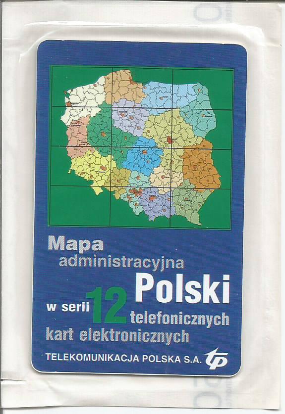 Mapa Polski, Panorama Racławicka - NOWE W FOLII