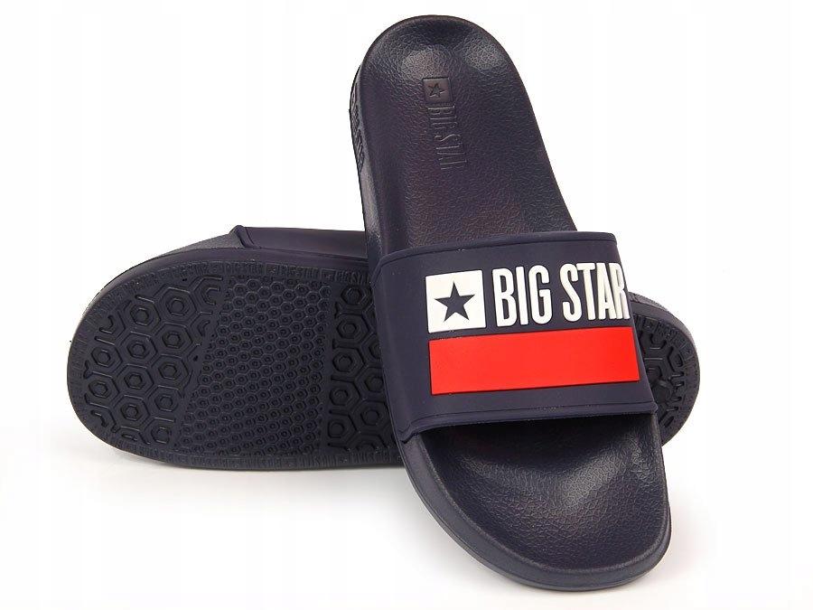 KLAPKI plażowe MĘSKIE granat BIG STAR GG174937 45