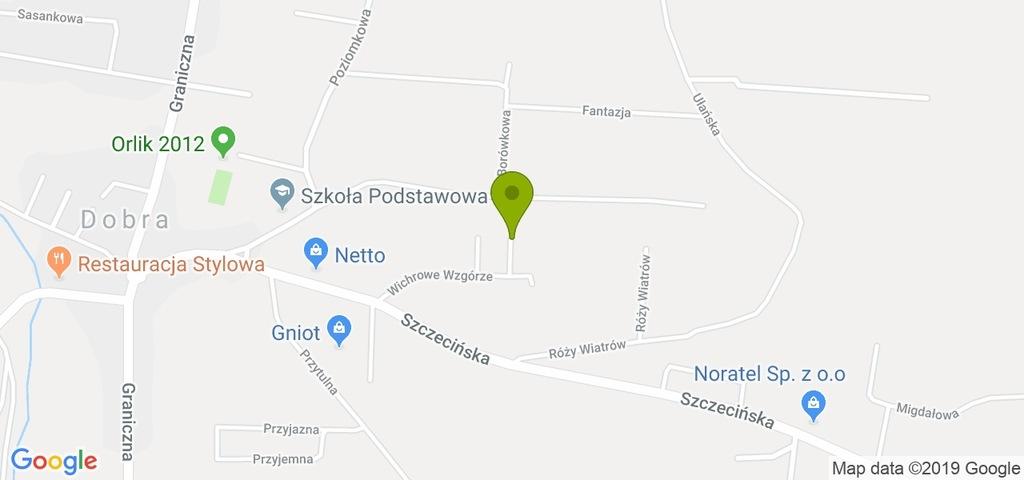 Działka Dobra (Szczecińska), policki, 709,00 m²