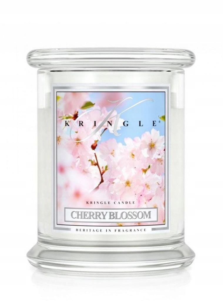 Kringle Candle - Cherry Blossom - średni, klasyczn