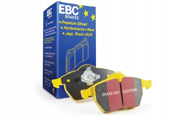 DP42021/2R Zestaw klocków hamulcowych YELLOW EBC