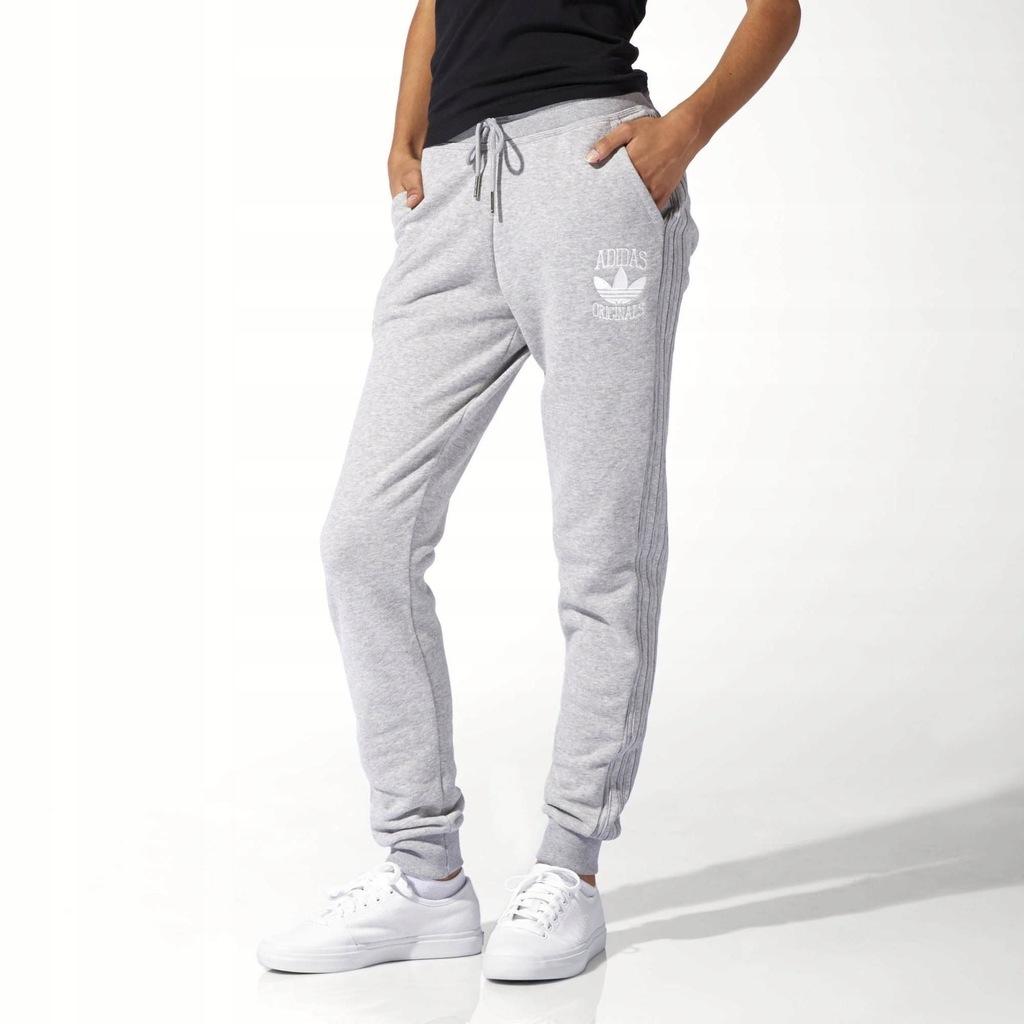 Archiwalne: Adidas Originals spodnie dresowe damskie rozmiar