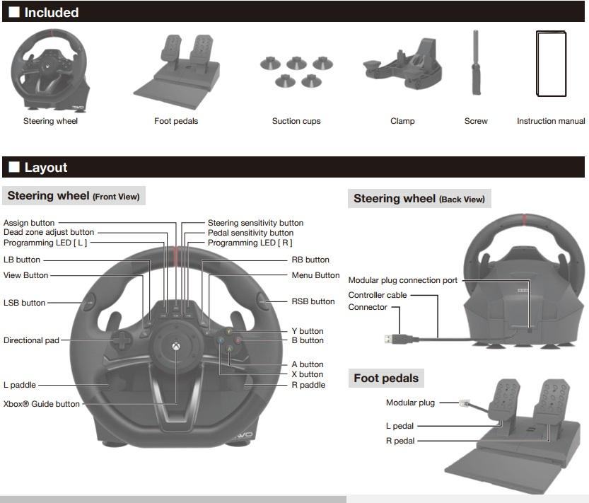 Hori Kierownica Rwo Racing Wheel Overdrive Xboxone 7067598246 Oficjalne Archiwum Allegro