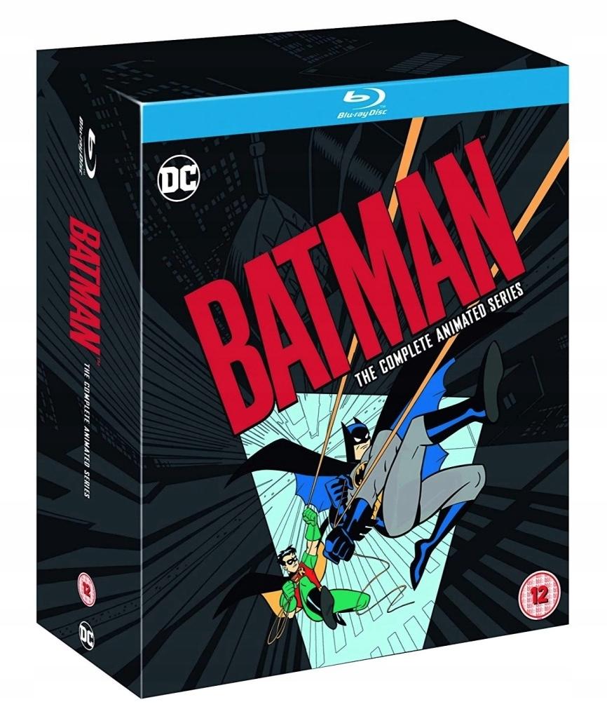 . Batman The Animated Series | Blu-ray | sez. 1-4