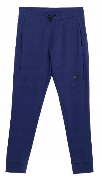 Spodnie męskie 4F SPMD011 dresowe granatowe L
