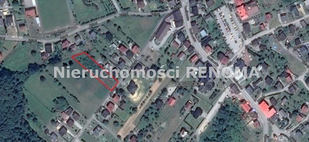 Działka, Rogów, Gorzyce (gm.), 2600 m²