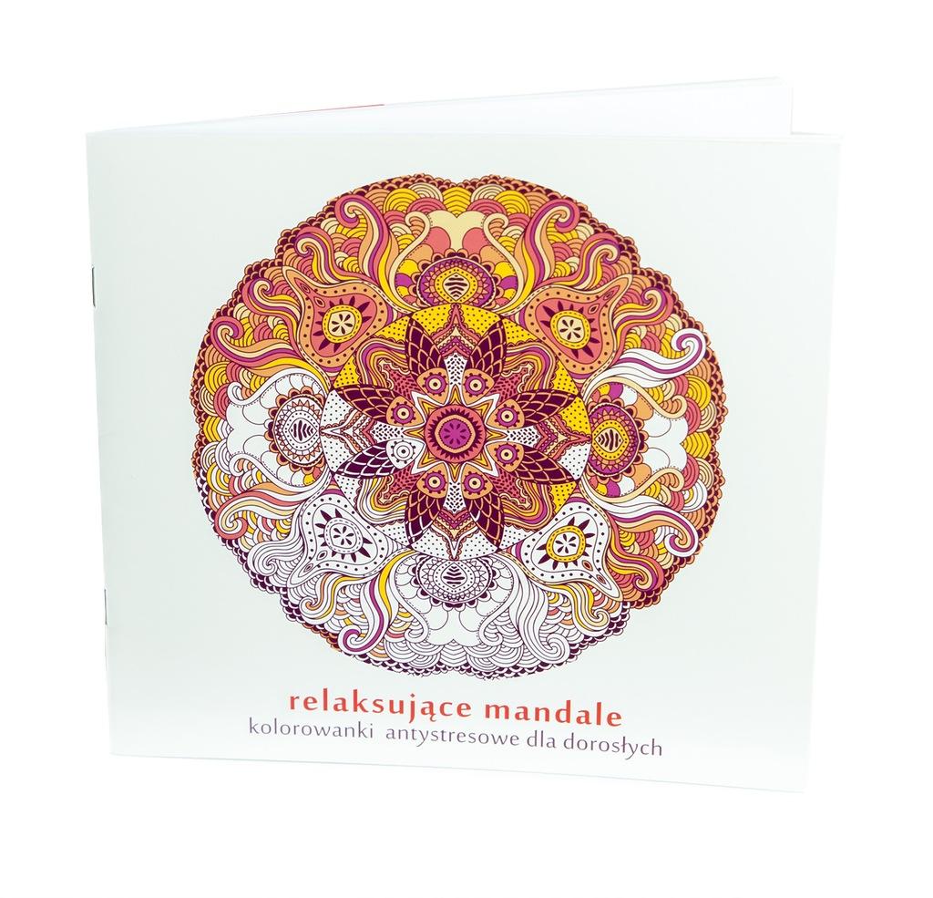 Kolorowanki Antystresowe Mandale Kreatywne 586 6813633993 Oficjalne Archiwum Allegro
