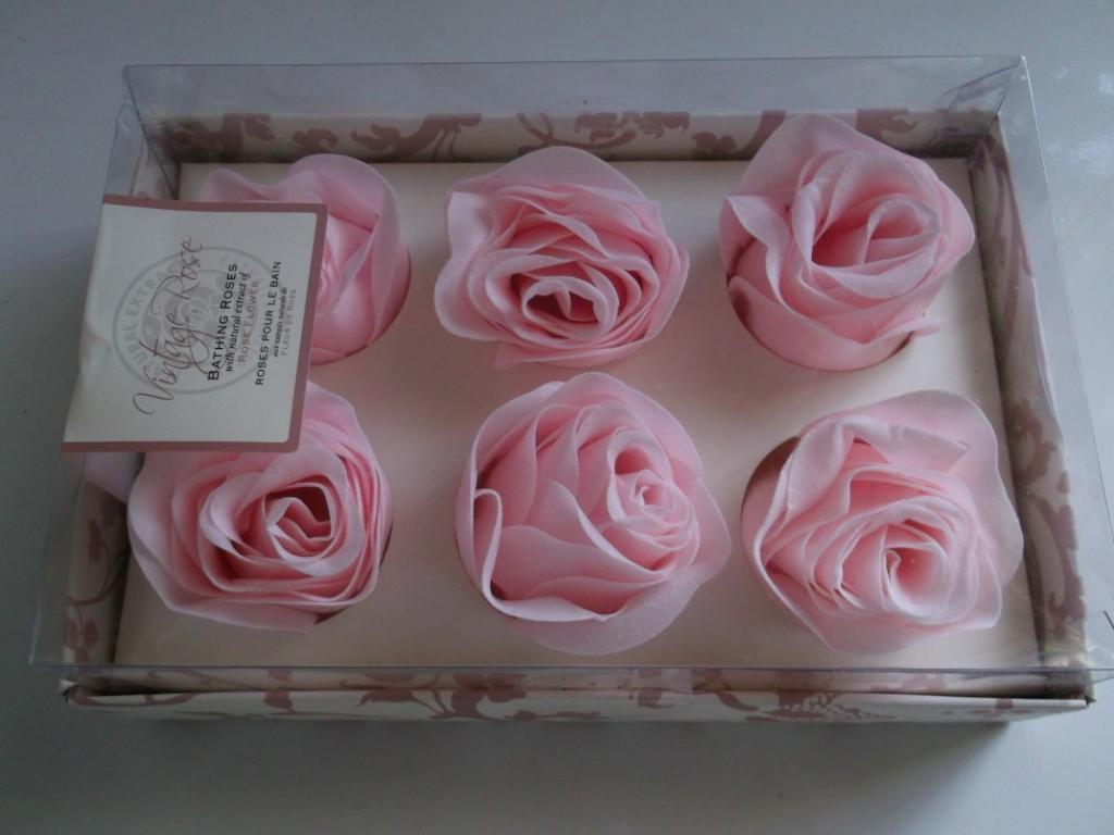 RÓŻE PŁATKI DO KĄPIELI Vintage rose