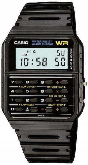 Zegarek Unisex CASIO CLASSIC CALCULATOR