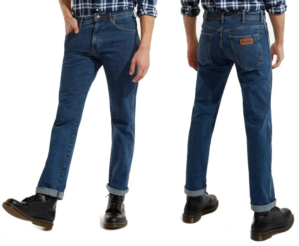 Spodnie WRANGLER TEXAS stonewash STRETCH W40 L36