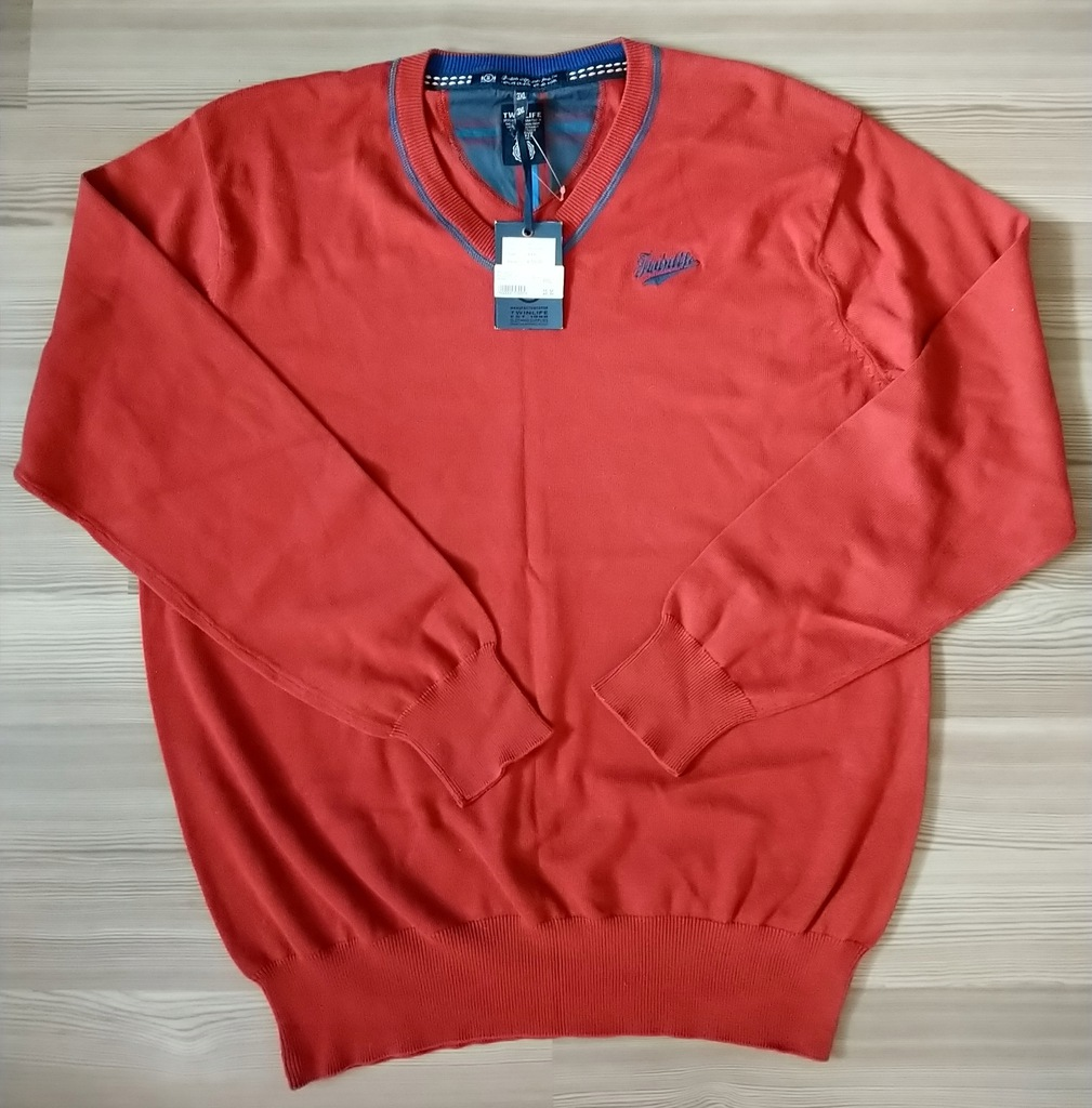 Sweter Twinlife 3XL nowy Pulower