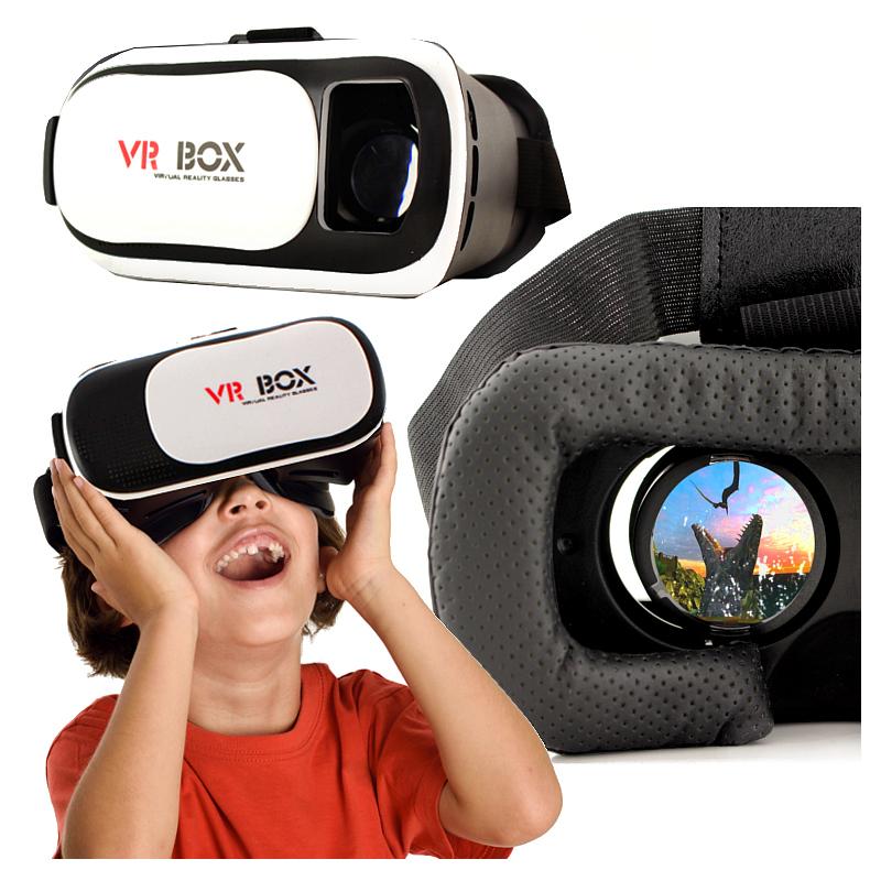 OKULARY VR + PILOT DO SMARTFONA UNIWERSALNE GOGLE