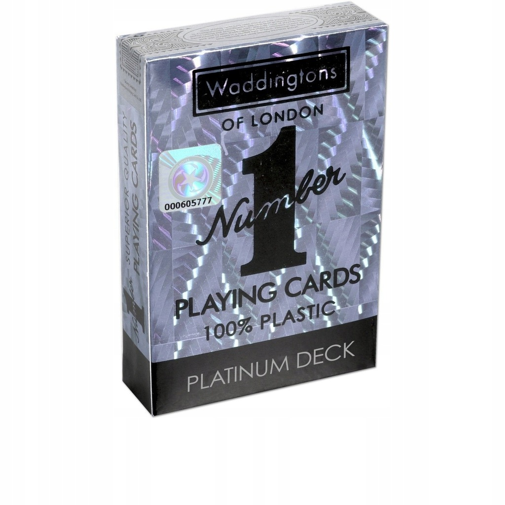 Karty Waddingtons No.1 Platinium