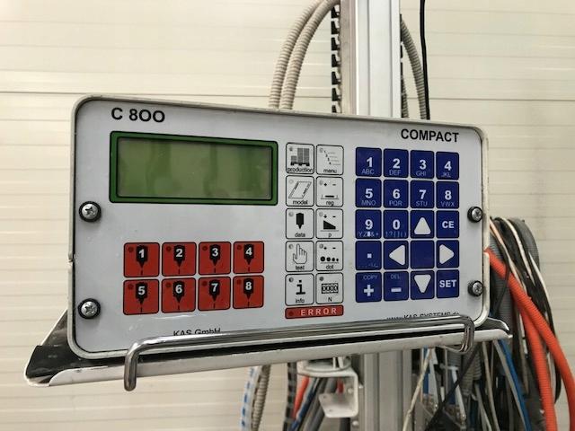 System klejowy firmy KAS do składarko sklejarki.