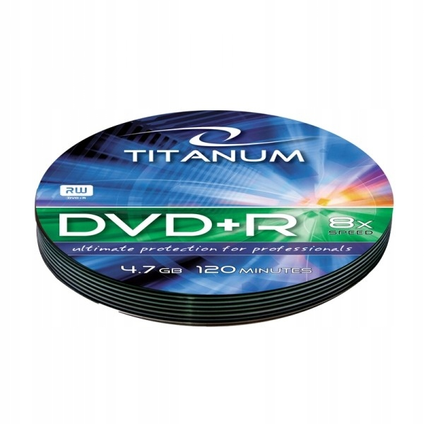 TITANUM 1220 - DVD+R [ soft pack 10 | 4.7GB | 8x ]