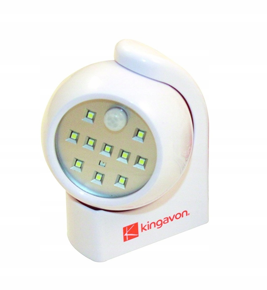Kingavon HL110 Lampka LED Zewnętrzna Czujnik Ruchu