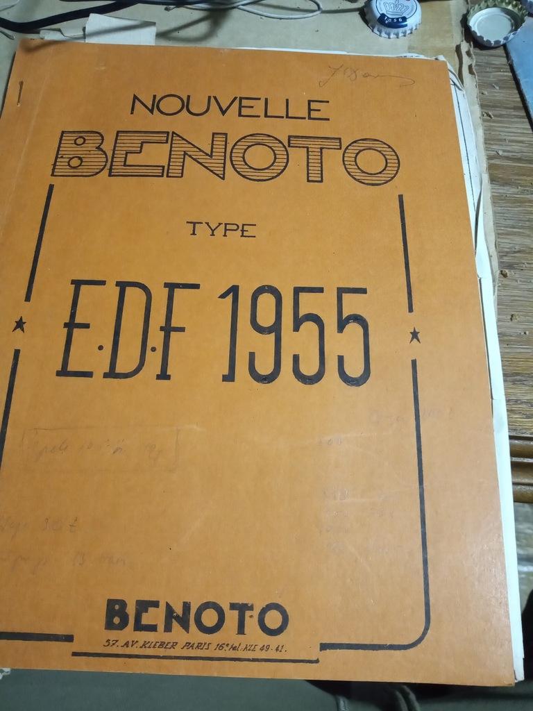 Benoto Katalog Wbijanie Pali Mosty 1955
