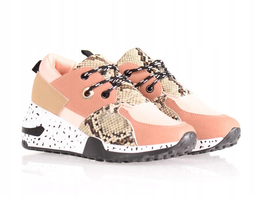 3668 Damskie Sportowe Buty Różowe 39