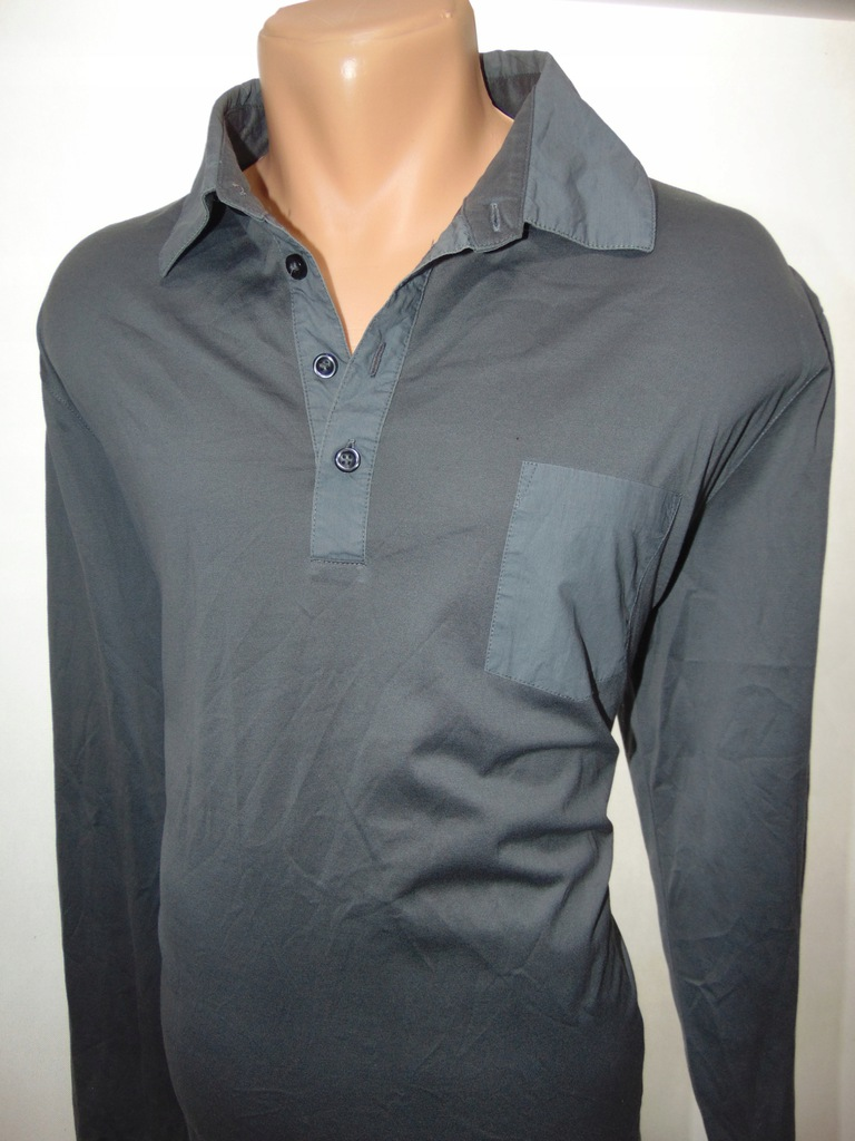 HUGO BOSS slim fit bluza męska polo r XL