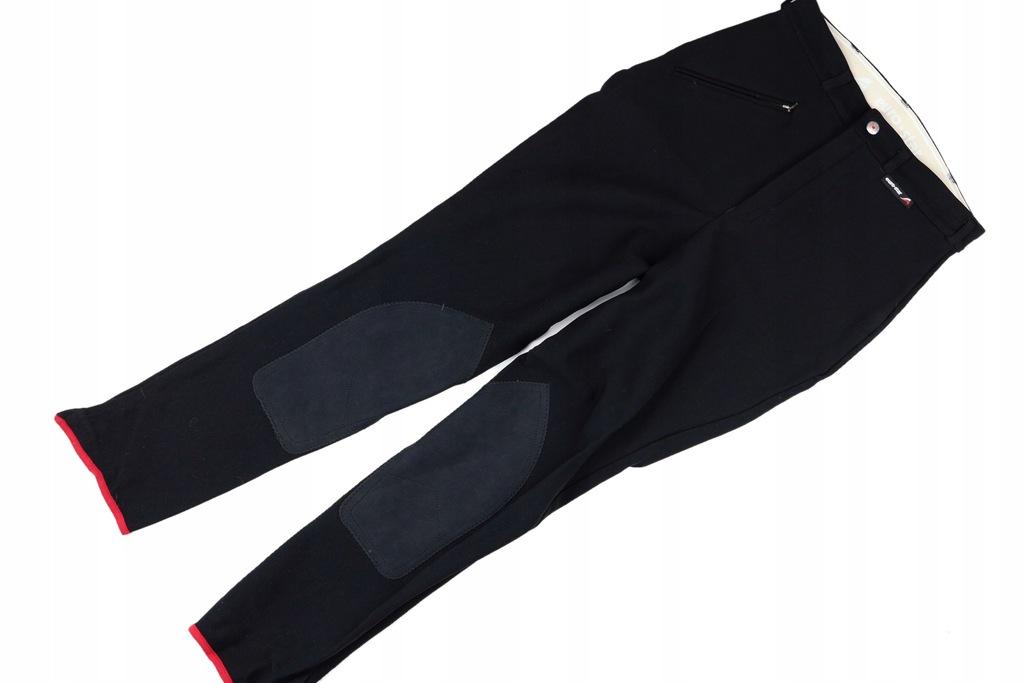 Eurostar spodnie bryczesy czarne damskie _36/S