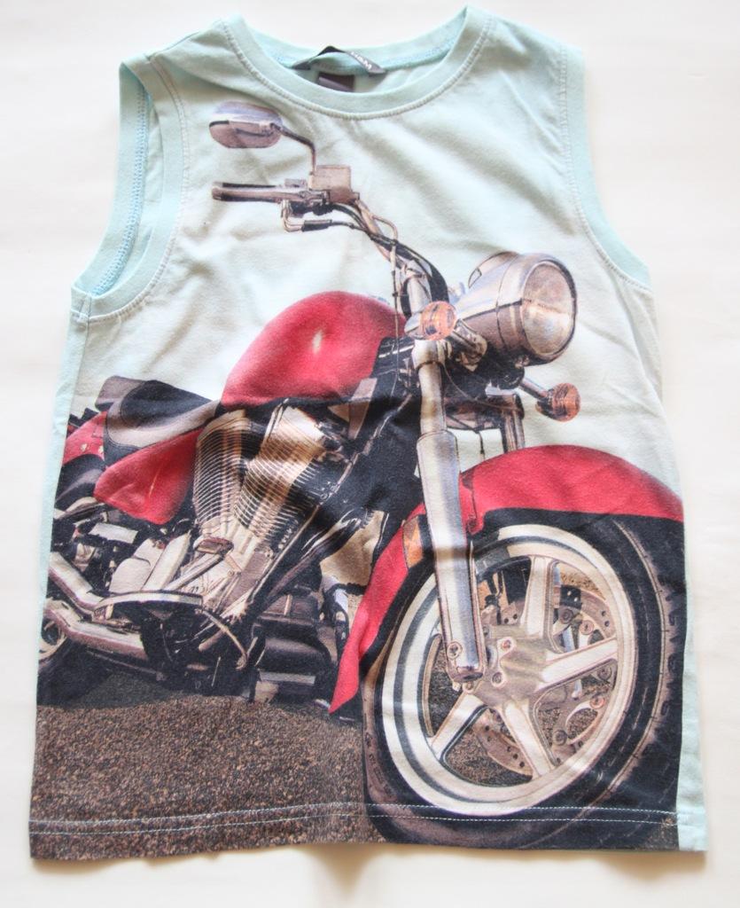 H&M koszulka bez rękawów- t`shirt r.110/116