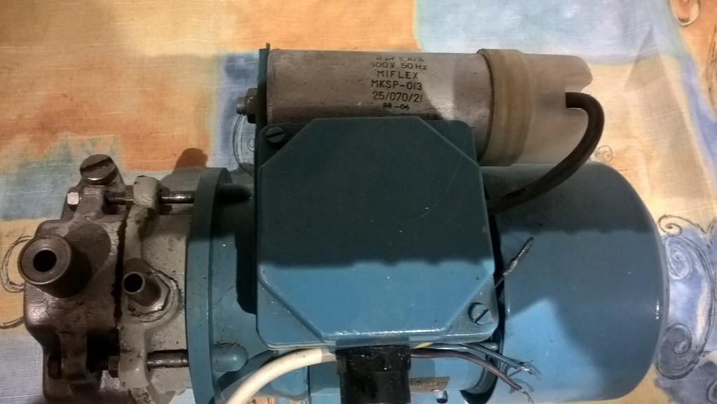 Pompa olejowa wraz z silnikiem 230V