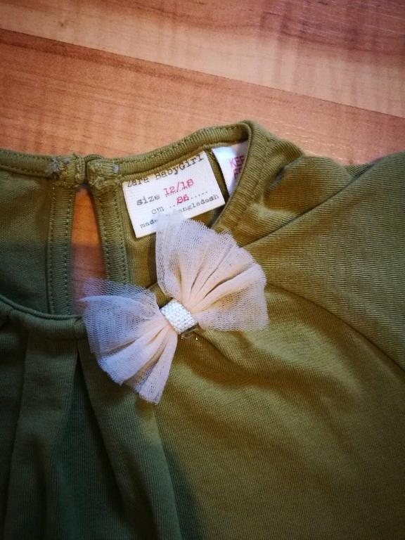 zara koszulka organiczna bawełna 86cm 12-18m