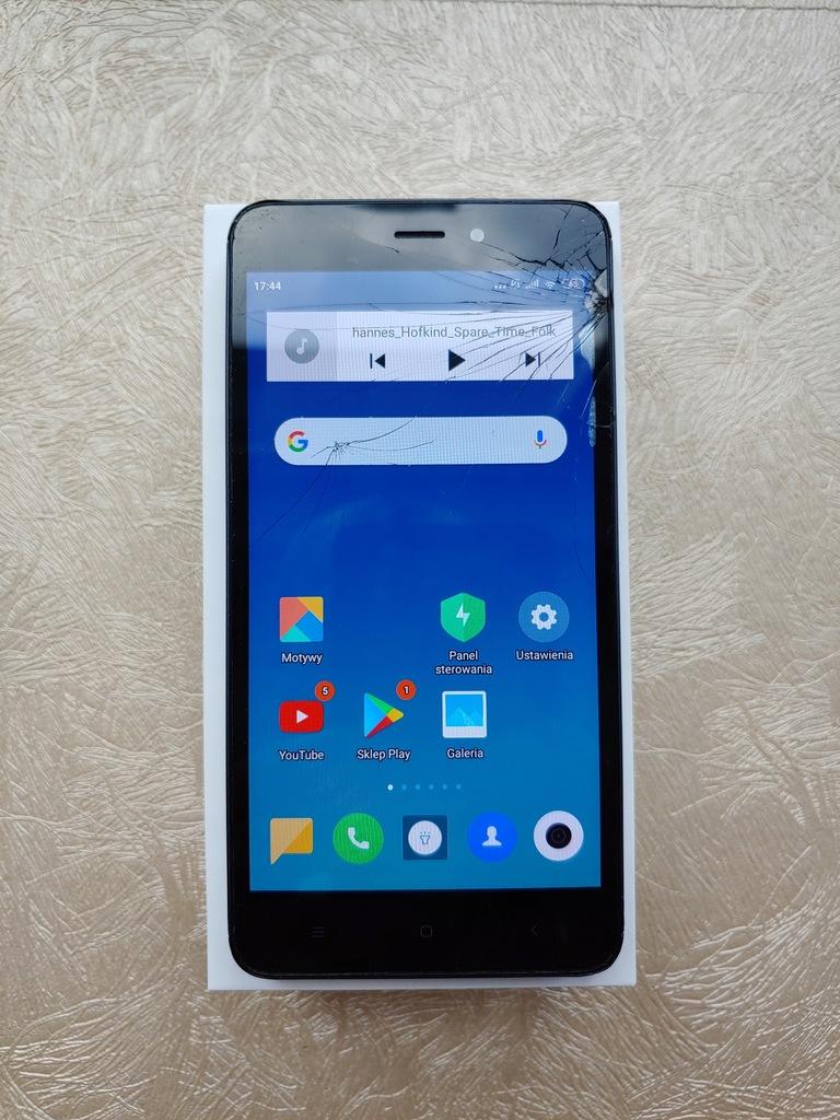 Xiaomi Redmi 4A zbity dotyk + NOWY do zmiany