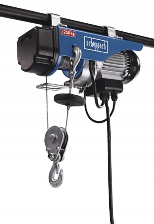 Wciągarka linowa elektryczna HRS250 Scheppach