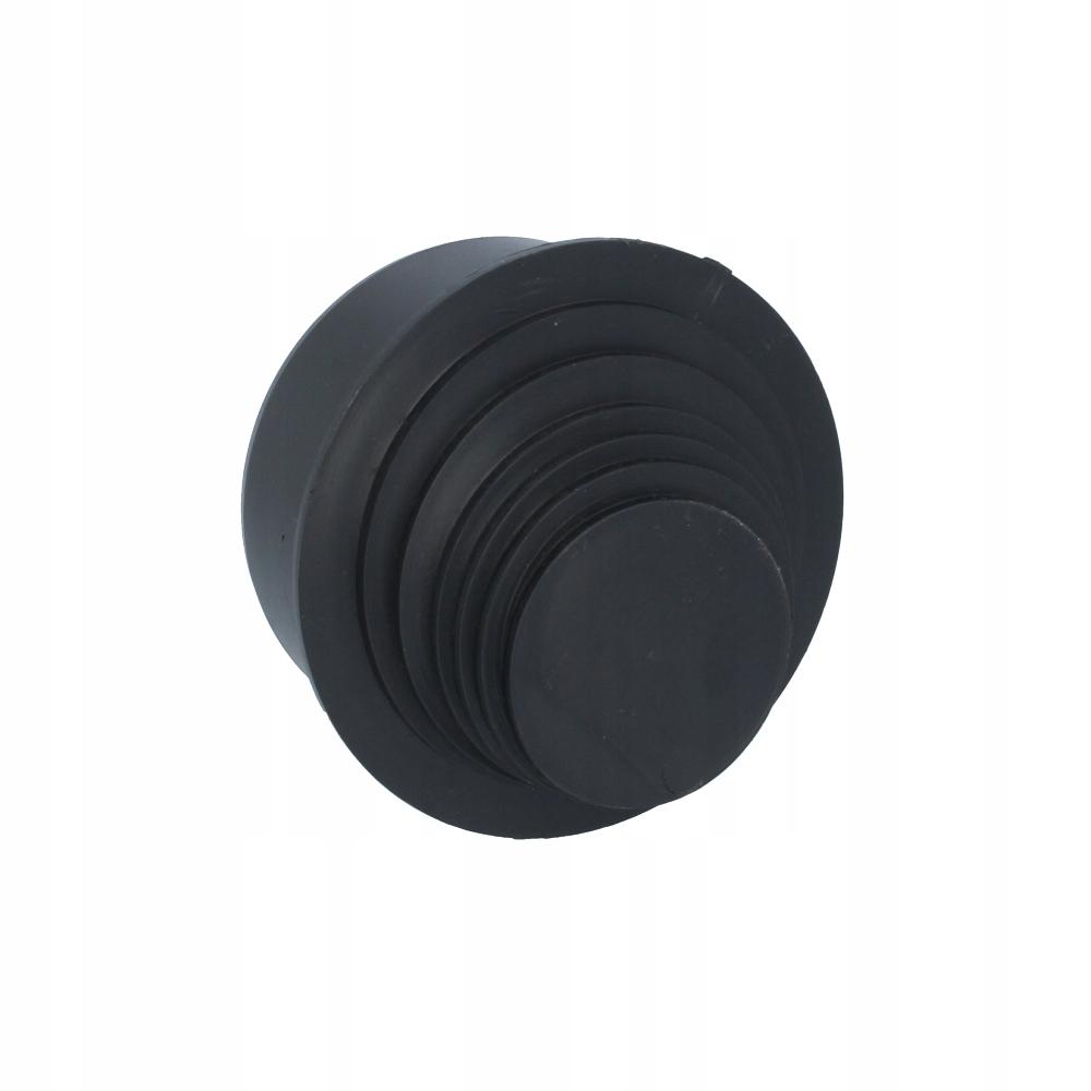 Zwężka rynny rury spustowej 110 czarna rynna PP