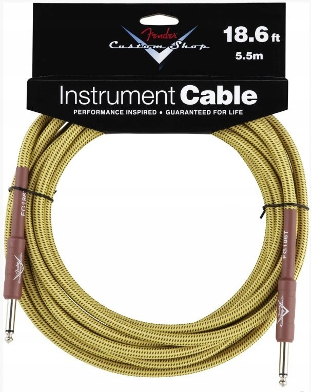 Kabel Gitarowy Fender Custom Shop Cable Tweed 3m