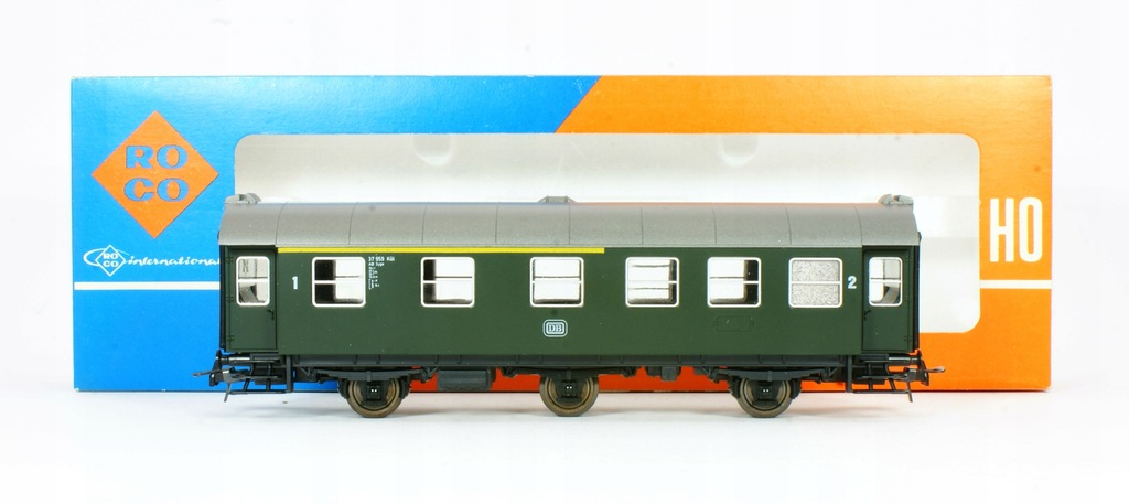 Roco. Wagon osobowy I / II klasa DB IV ep.