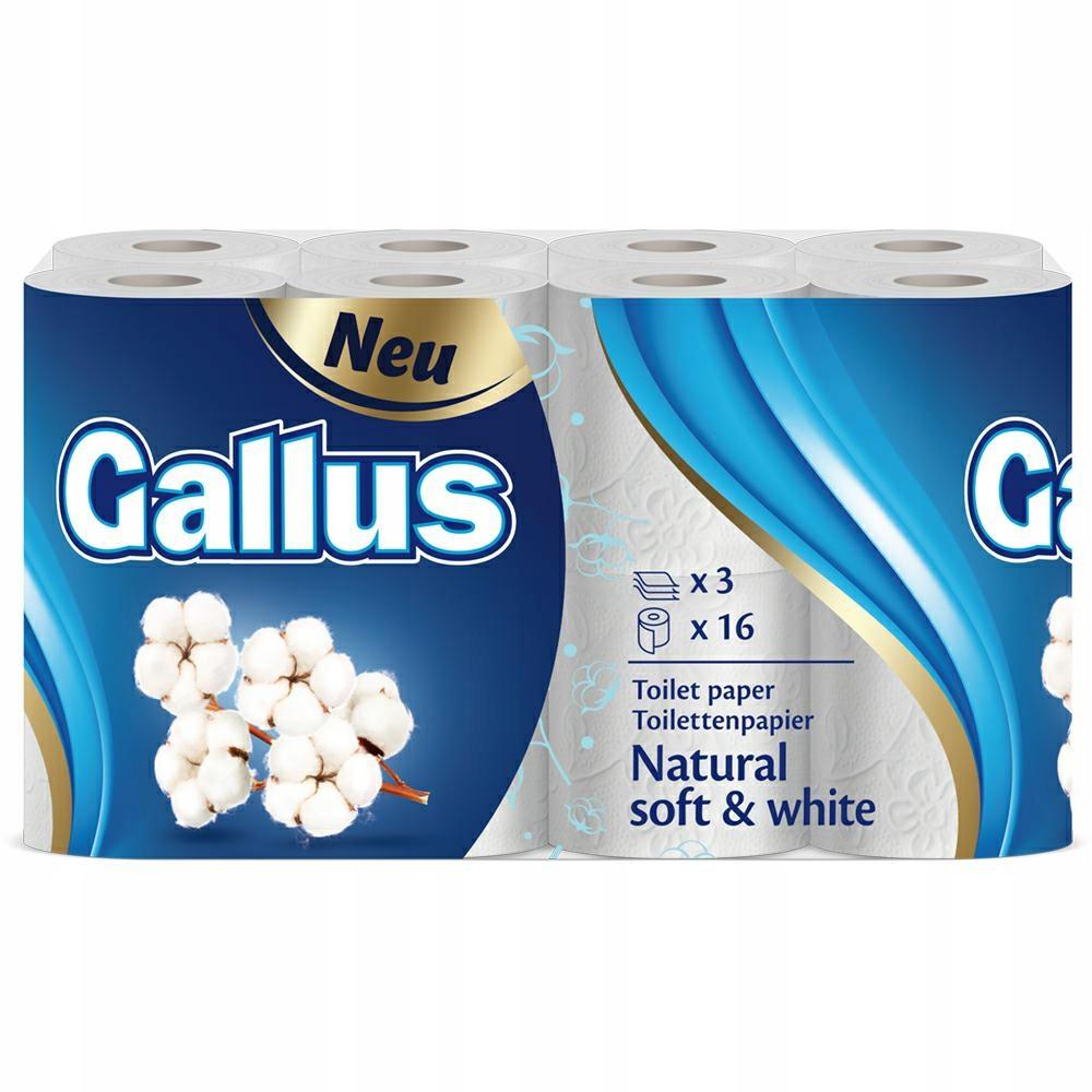 GALLUS Papier toaletowy 16 rolek 3 warstwy (4)