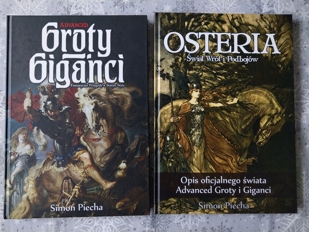 ZESTAW: Advanced Groty i Giganci + Osteria
