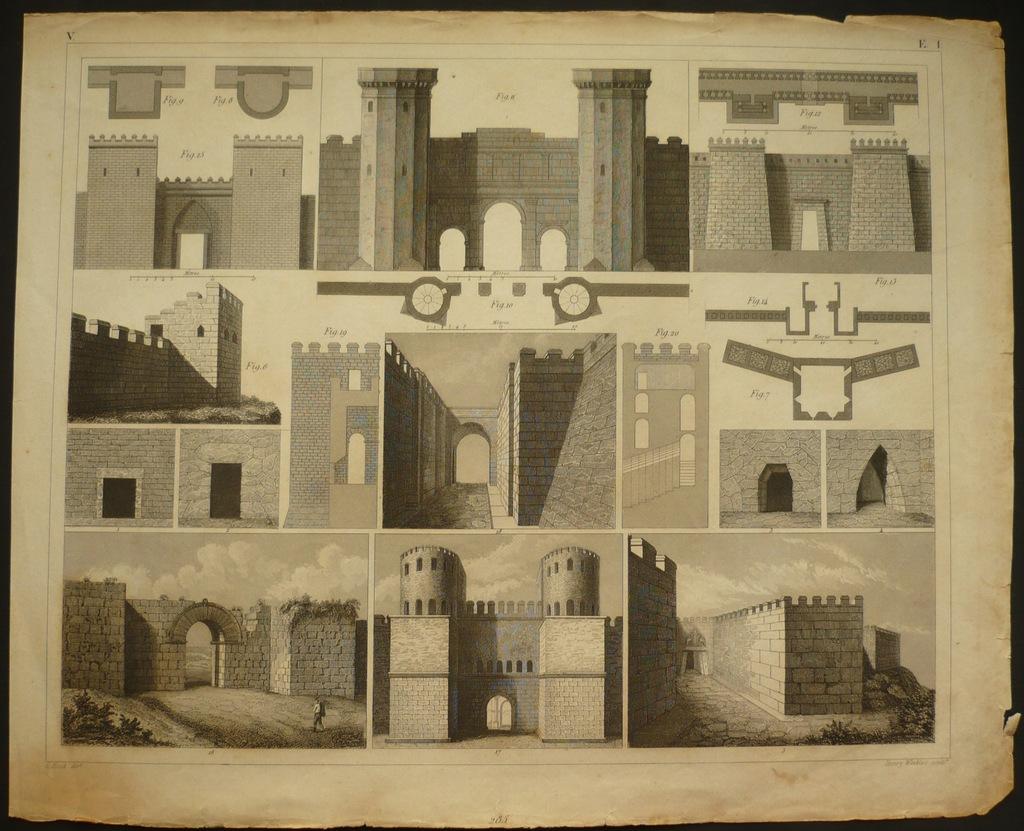 sztuka fortyfikacji, oryg. 1852
