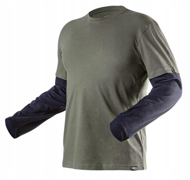 Koszulka długi rękaw CAMO rozmiar L 81-616 NEO