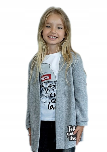 ALL FOR KIDS - BLUZA SWETER KARDIGAN 140/146