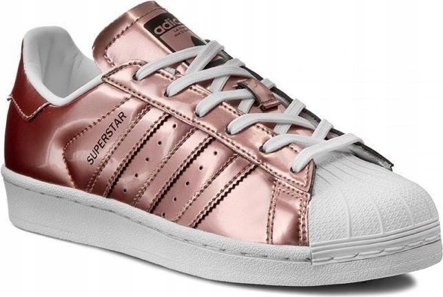 Adidas Buty damskie Superstar r?owe r. 39 13 (CG