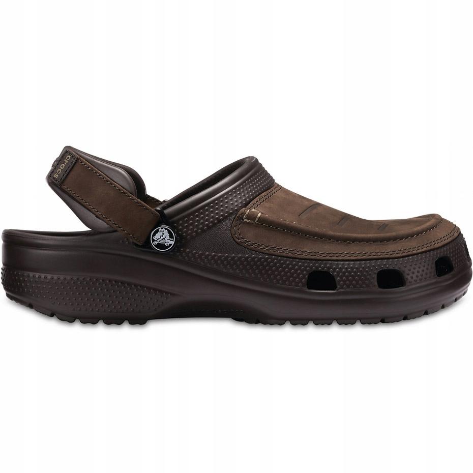 Crocs męskie Yukon Vista Clog brązowe 205177 22Z 4