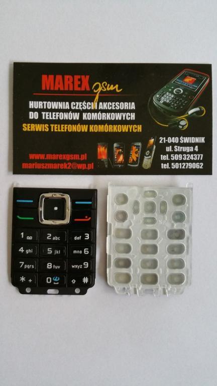 NOWA SERWISOWA KLAWIATURA NOKIA 6070 - MAREX GSM