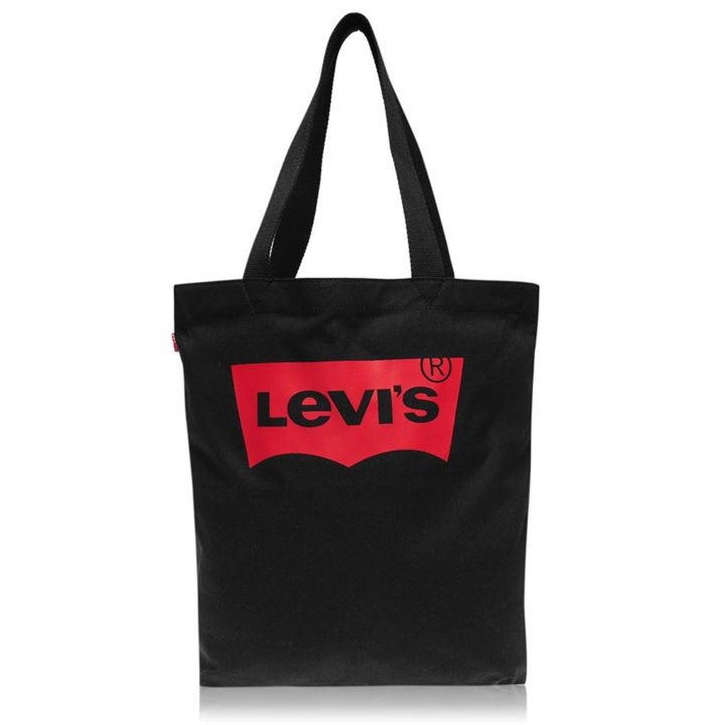 Torba na zakupy LEVIS Batwing bawełna czarna