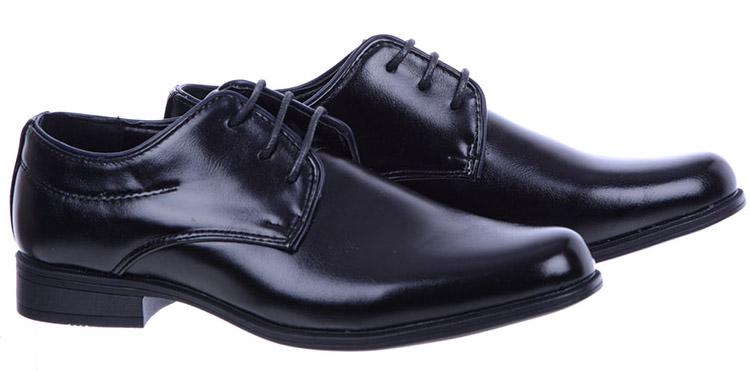 Buty Komunijne Badoxx Chłopice Wizytowe 150 Czarne