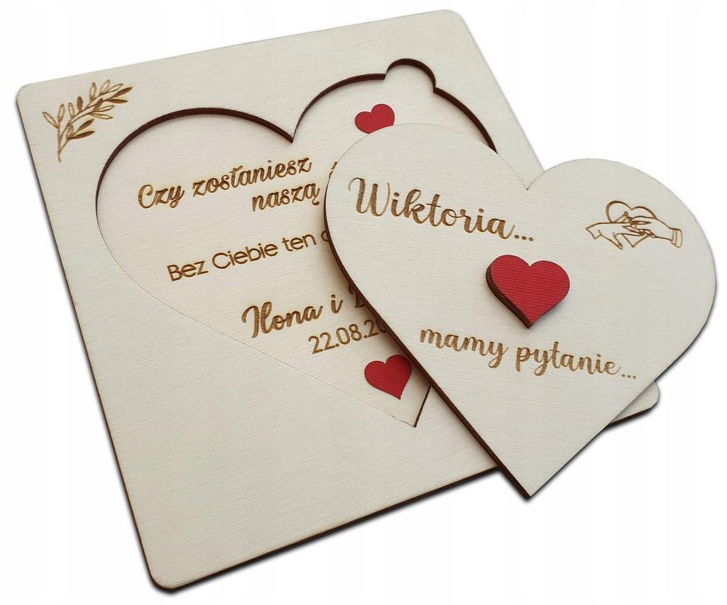 Pytanie do ŚWIADKOWEJ czy zostaniesz ŚWIADEK ślub