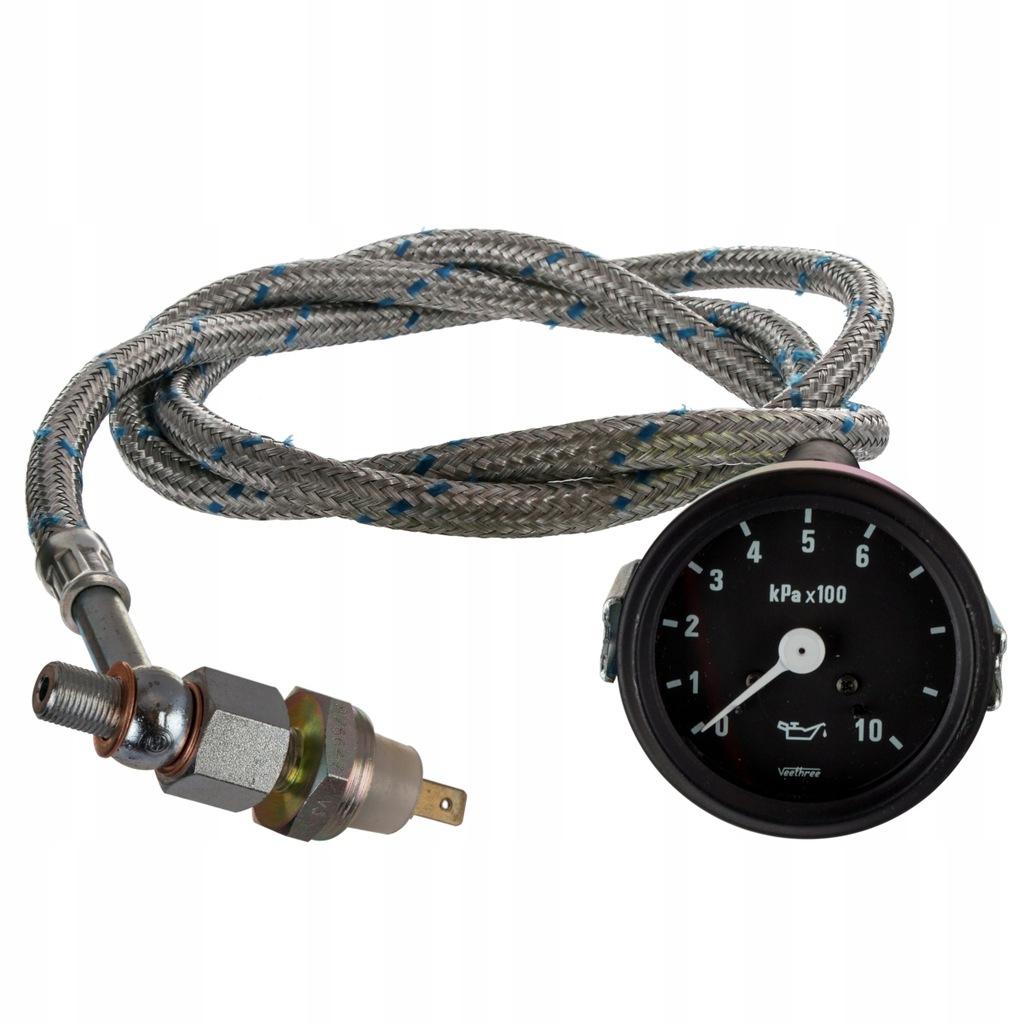 Czujnik + wskaźnik ciśnienia oleju Zetor 10 bar