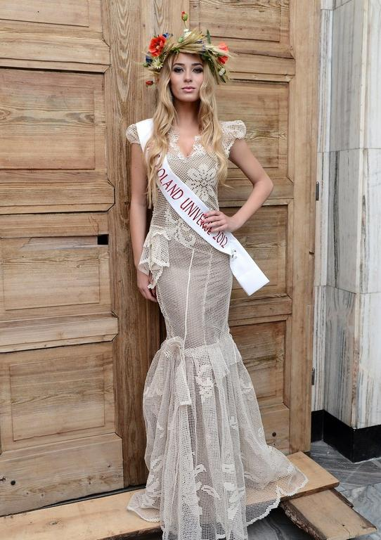 Marcelina Zawadzka - suknia Miss Polonia