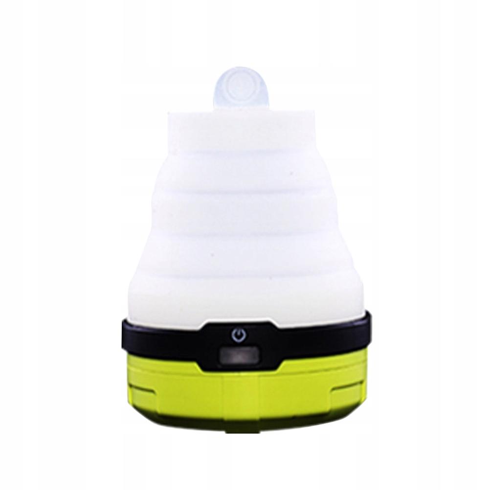 Mini silikonowe składane światło kempingowe na zew