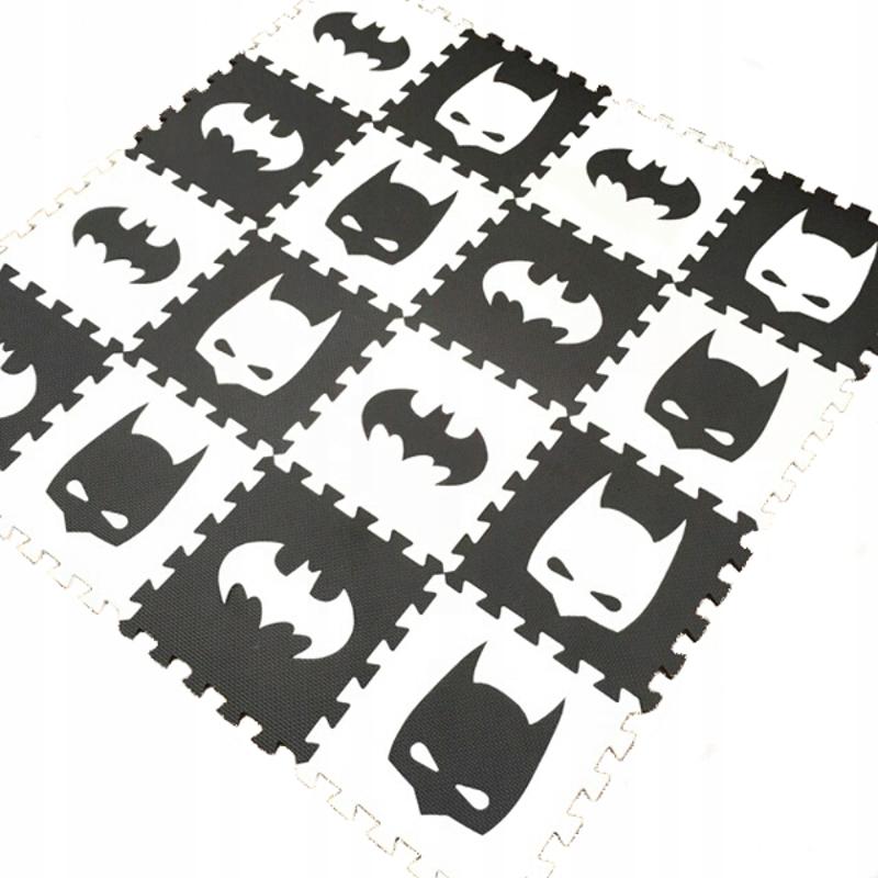 MATA puzzle piankowe BATMAN 10 sztuk 30x30 cm HIT
