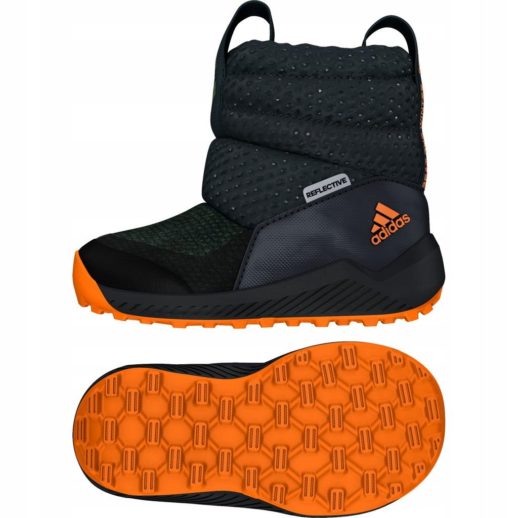 buty dziecięce zimowe adidas Rapida 23 12 G27180