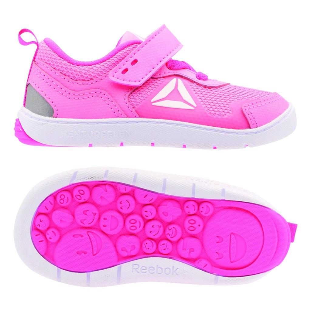 Różowe Buty Buty sportowe dziecięce Adidas rozmiar 25