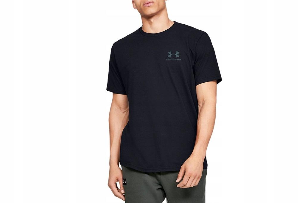 UNDER ARMOUR SPORTSTYLE LC BACK _S_ Męski T-shirt